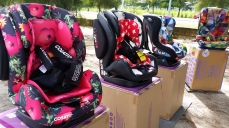 Look at these lively child restraints